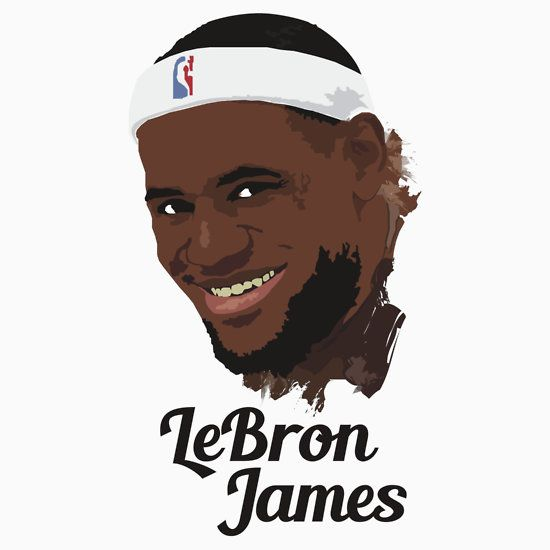550x550 Lebron James T Shirt All Star And Famous Basketball Player In