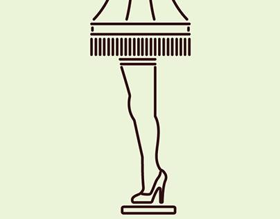 Leg Lamp Vector At Getdrawings Com Free For Personal Use