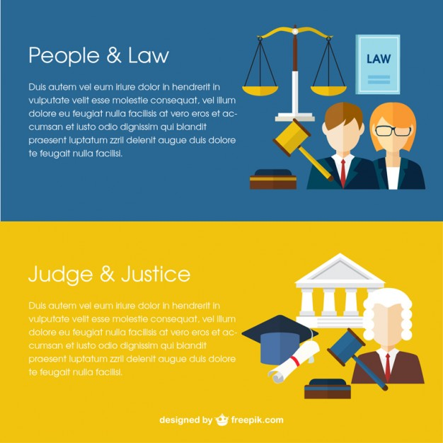 626x626 Law Banners Vector Free Download