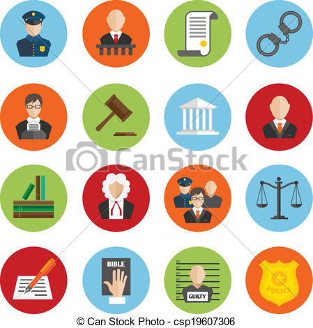 449x470 Law Flat Icons. Law Legal Justice Judge And Legislation Flat Icons
