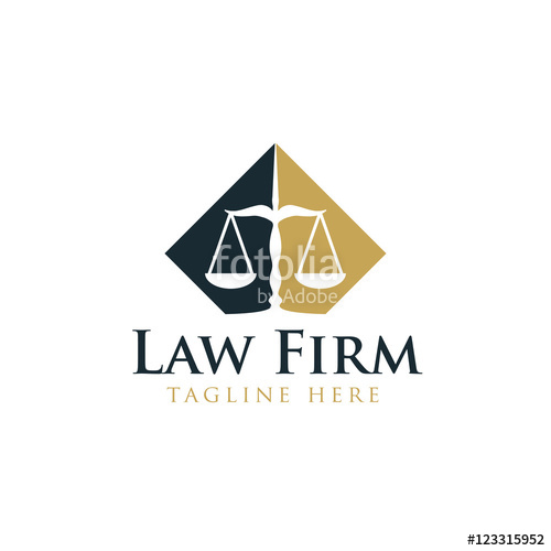 500x500 Law Legal Logo Design Vector Stock Image And Royalty Free Vector