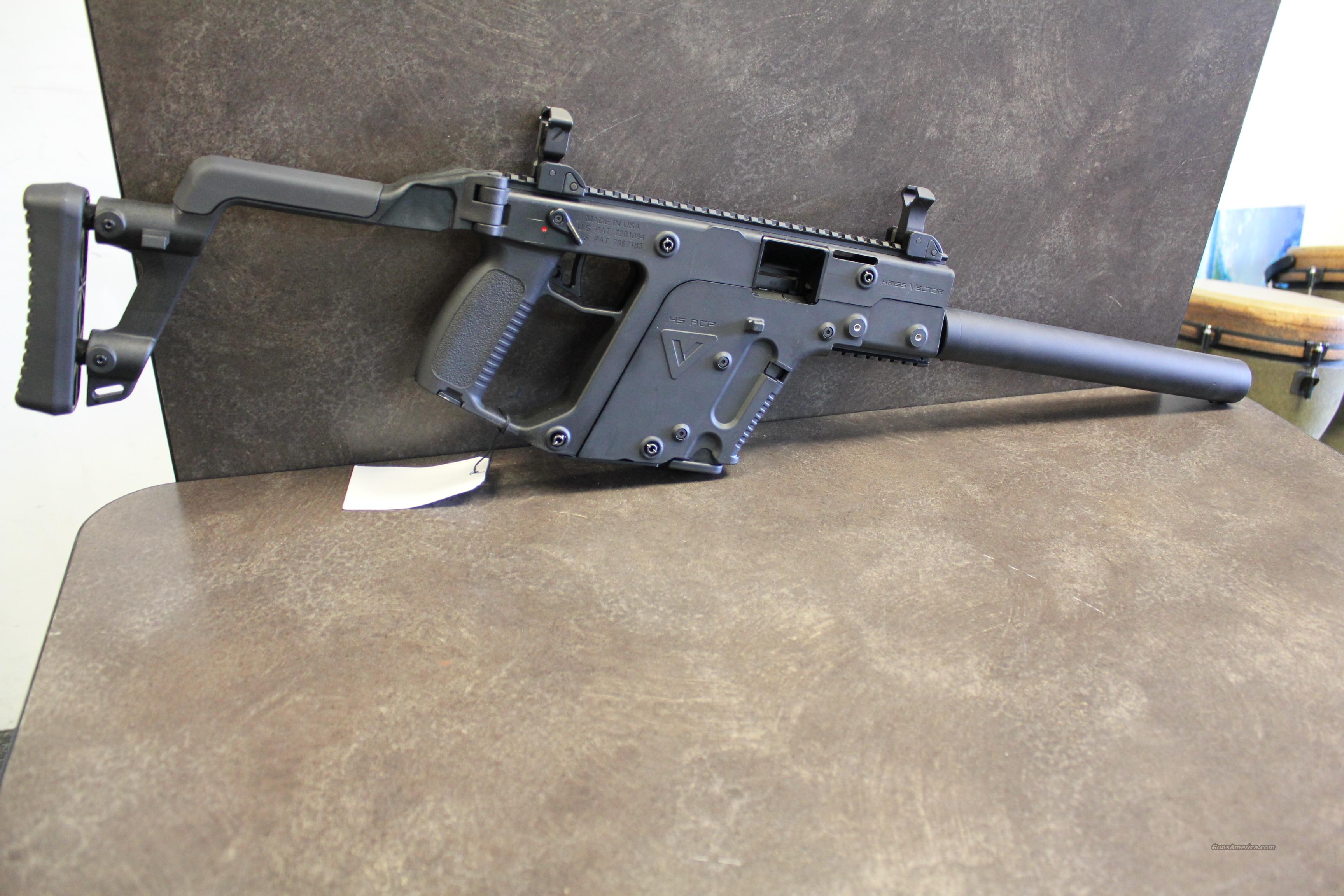 3456x2304 New Ca Legal Kriss Vector .45acp Rifle For Sale