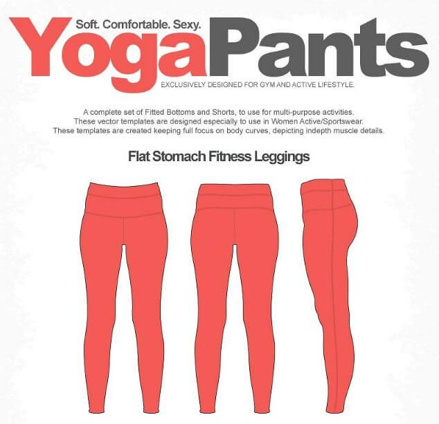 634x613 Leggings Mockup Template And Yoga Pantsmats Mockup Mockup