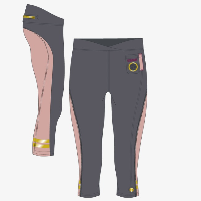 650x650 Vector Leisure Tight Leggings, Pants, Pants, Pants Png And Vector