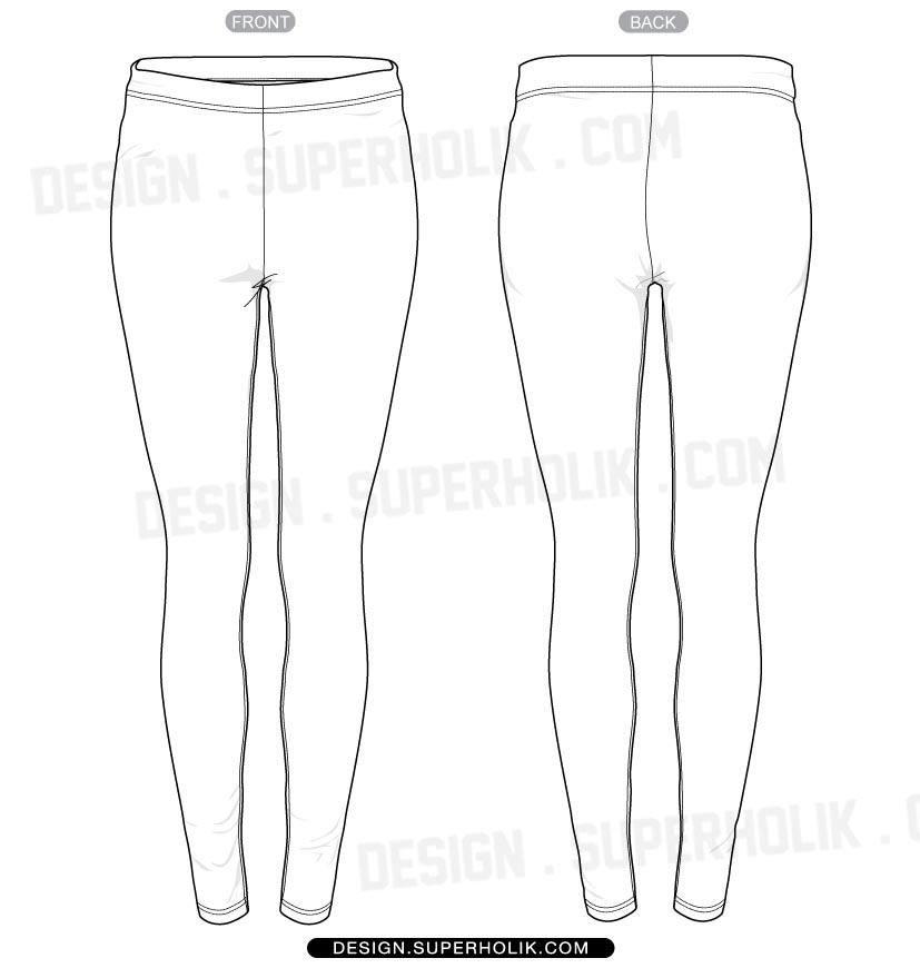 Clothing Design Template | Leggings Vector At Getdrawings Com Free For Personal Use Leggings