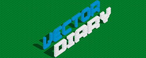 500x200 Illustrator Tutorial Lego Bricks Typeface