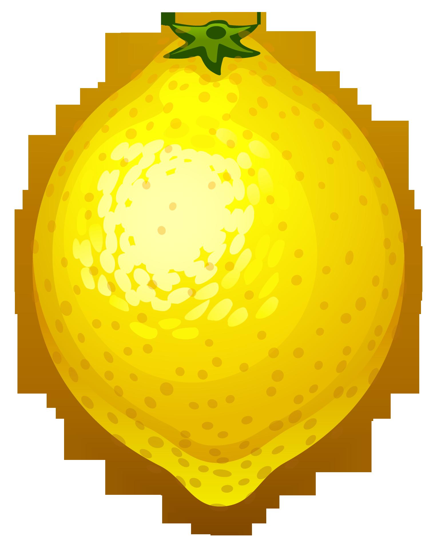 Lemon Vector Art Free