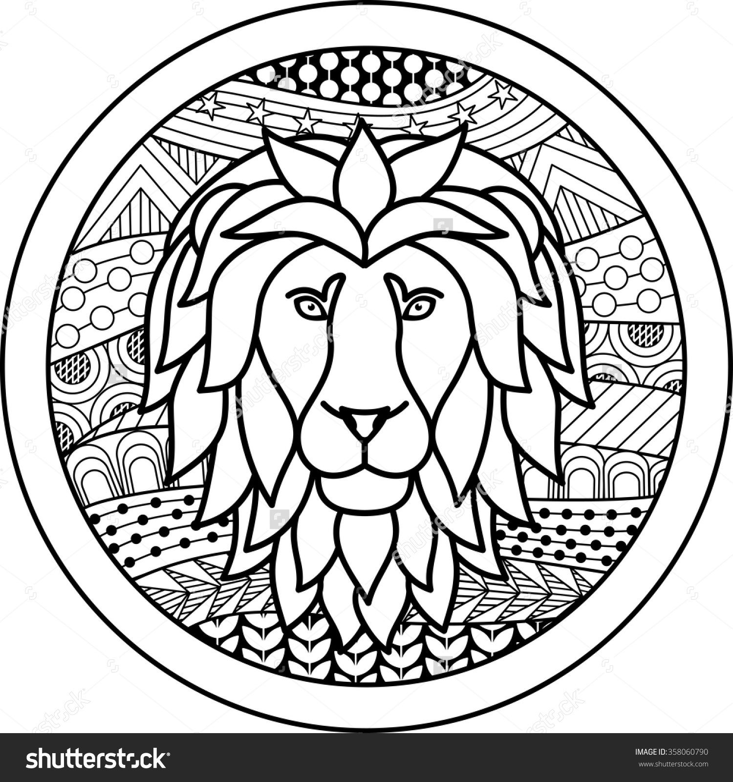 1500x1600 Zodiac Sign Leo Zentangle Paint A New... Zodiac