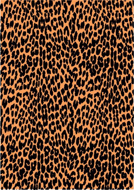442x625 Leopard Print Vector 2 By Inferlogic