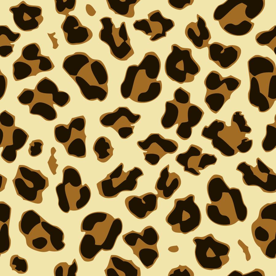 900x900 Leopard Print Vector Pattern
