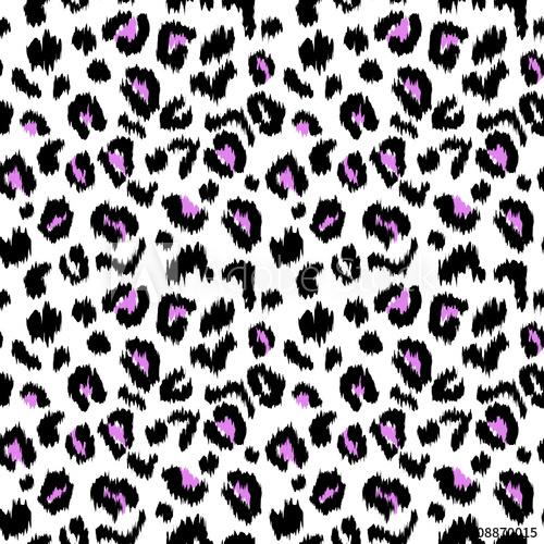 500x500 Leopard Print Vector Seamless Pattern Texture