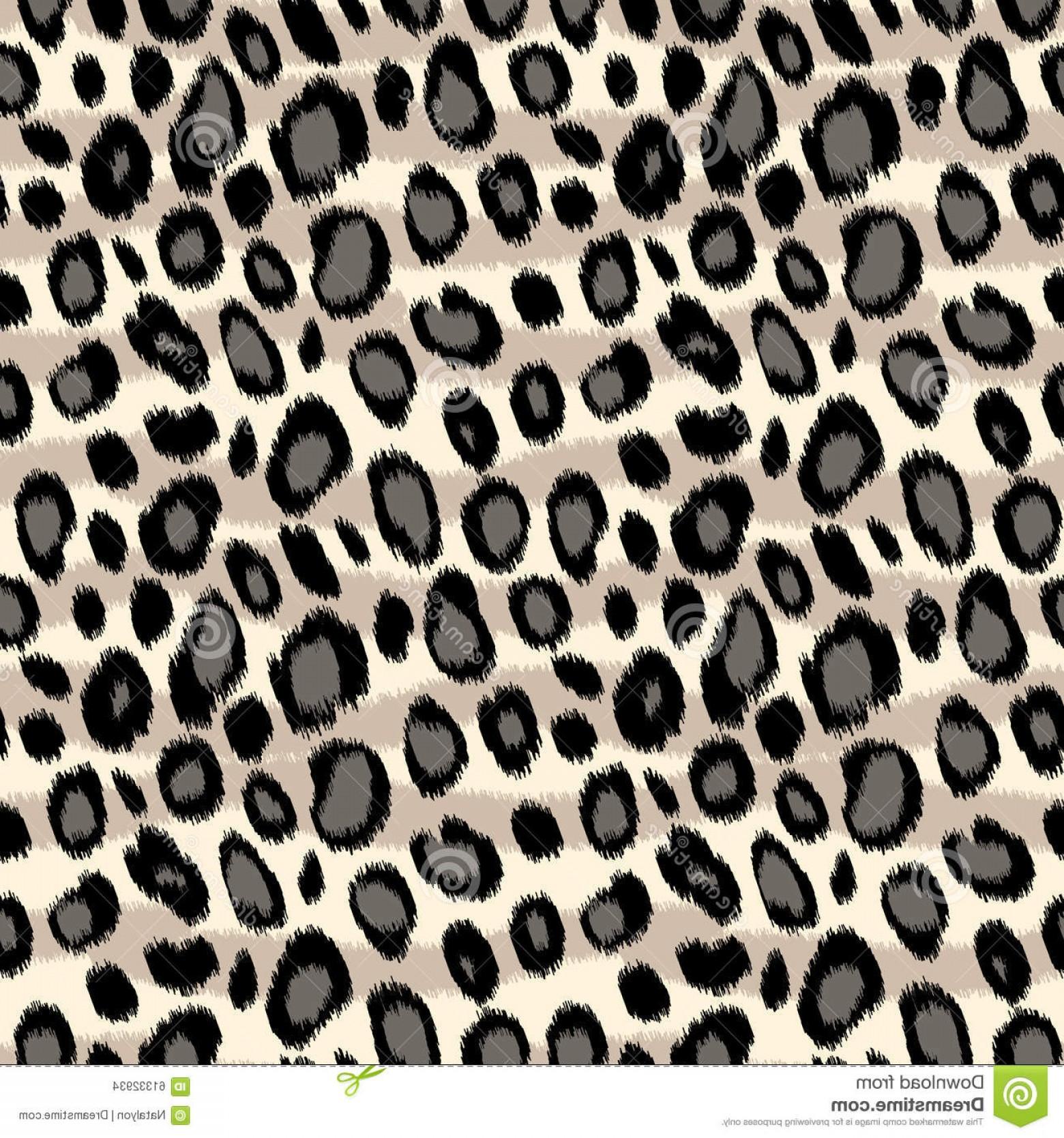 1560x1668 Stock Illustration Leopard Skin Animal Print Seamless Pattern