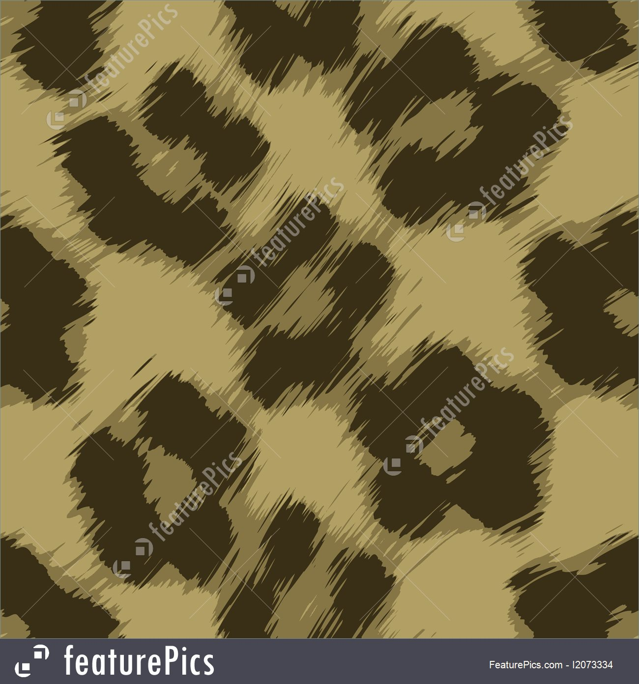 1300x1392 Templates Leopard Print Vector