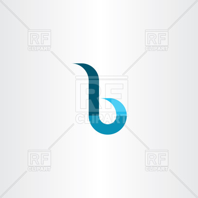 400x400 Small Letter B Vector Image Vector Artwork Of Signs, Symbols