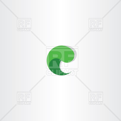400x400 Green Letter C Logo Vector Image Vector Artwork Of Icons And