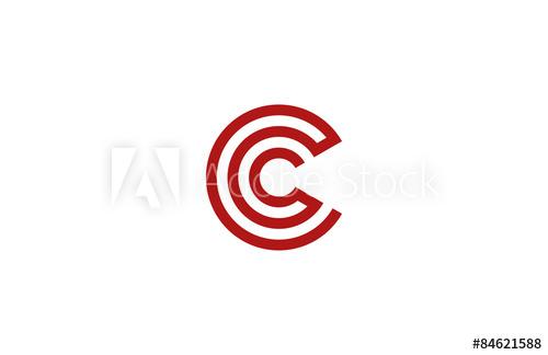500x324 Letter C Logo Vector Alphabet Design Element Template. Abc Conce