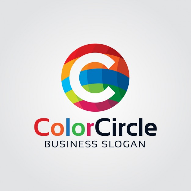626x626 Abstract Colorful Letter C Logo Vector Free Download