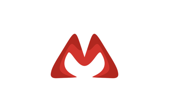 580x386 Letter M Vector Logo Graphic By Guardesign Acongraphic