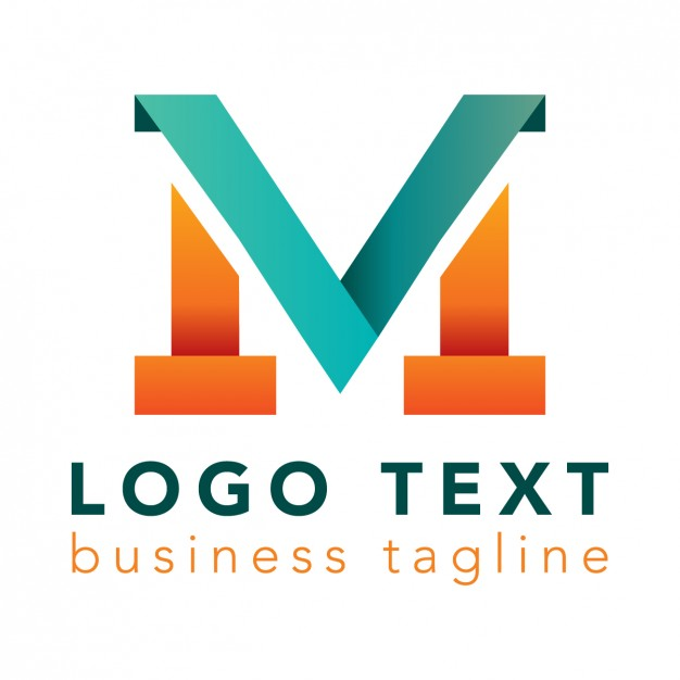 626x626 Letter M Logo, Bright Colors Vector Free Download