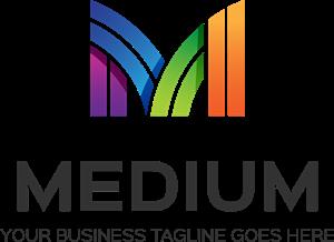 300x218 Medium M Letter Logo Vector (.eps) Free Download