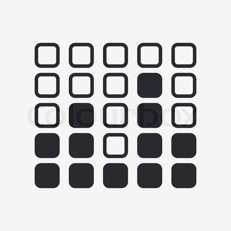 800x800 Vector Illustration Of Single Levels Icon Stock Vector Colourbox