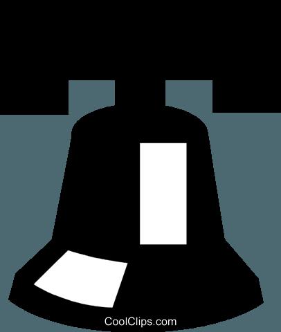 406x480 Liberty Bell Royalty Free Vector Clip Art Illustration Vc021298