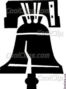 222x300 Liberty Bell Vector Clip Art