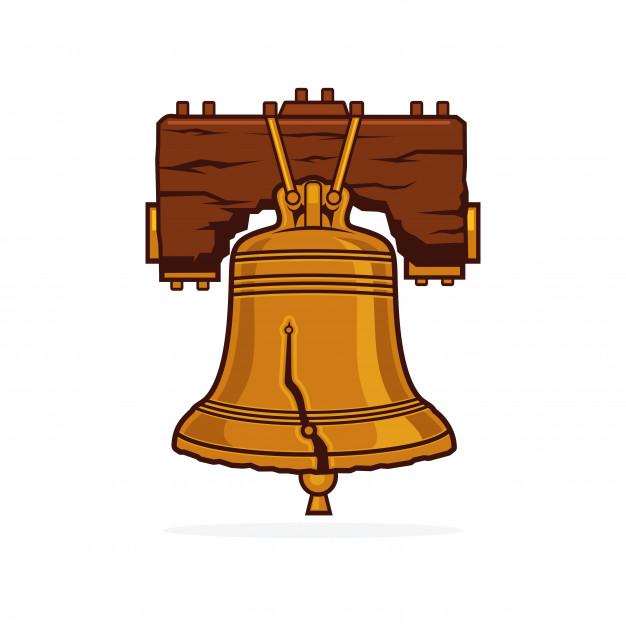 626x626 Liberty Bell Vector Vector Premium Download