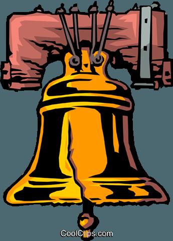 345x480 Liberty Bell Royalty Free Vector Clip Art Illustration Busi0425
