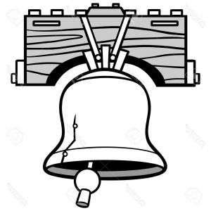 300x300 Photostock Vector Liberty Bell Ringing Illustration Arenawp