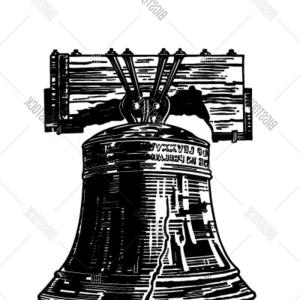 300x300 Stock Vector Liberty Bell Retro Clipart Illustration Arenawp