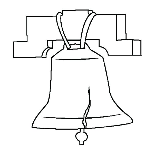 600x600 Collection Of Liberty Bell Line Drawing Download Them And Try To