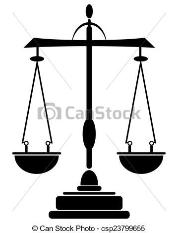 359x470 Black Silhouette Of Libra On White Background.