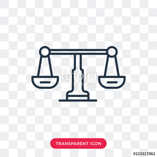500x500 Libra Vector Icon Isolated On Transparent Background, Libra Logo
