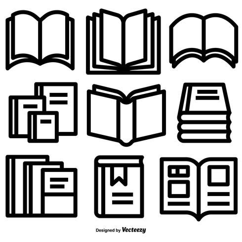 490x490 Pile Of Books Vector