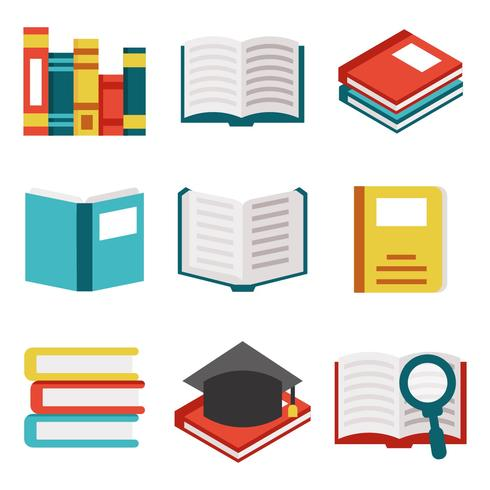 490x490 Free Books Libro Icons Vector