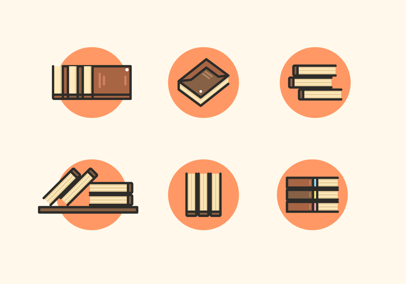 1400x980 Free Books Libro Icons Vector