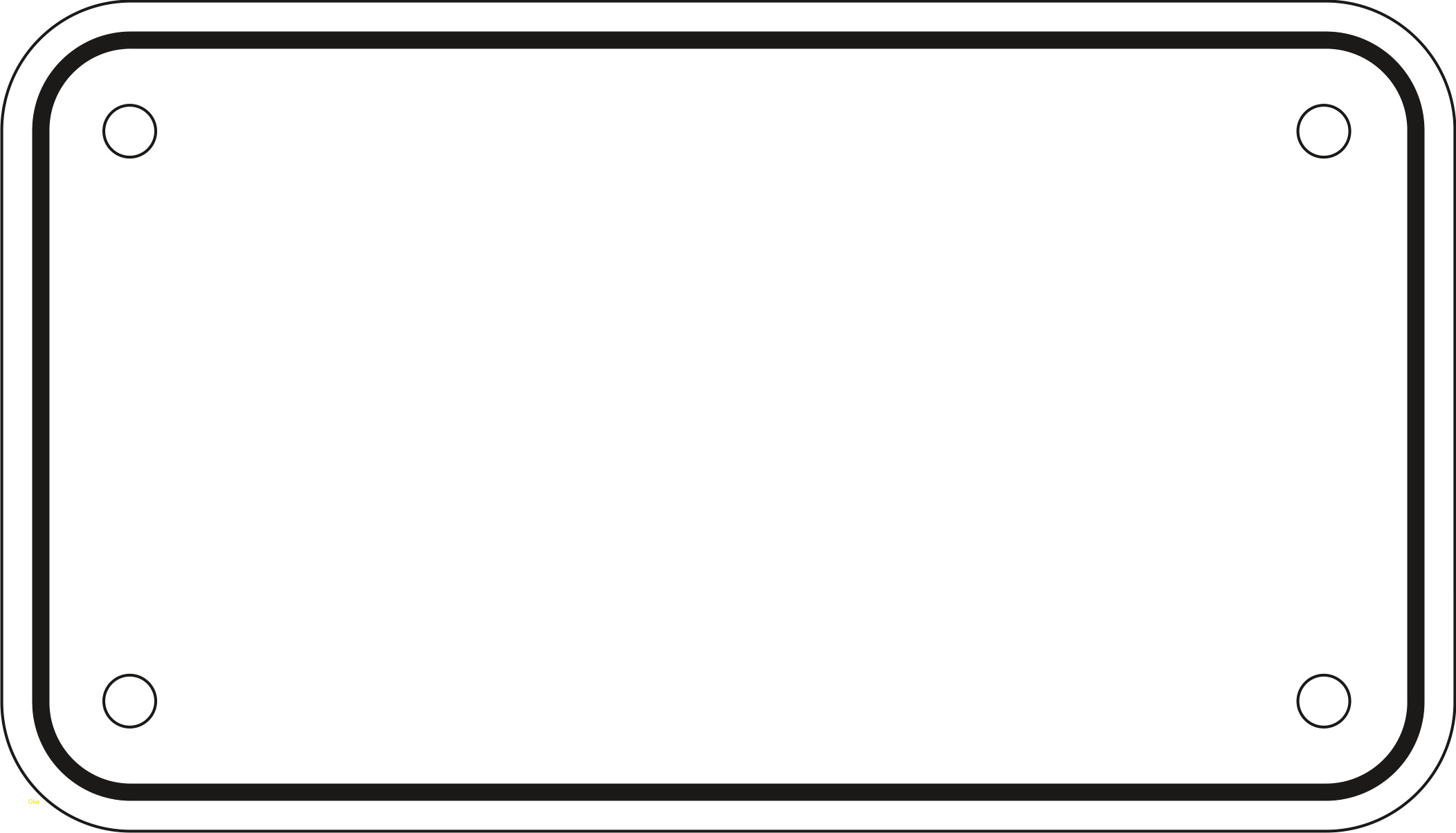 2104x1204 License Plate Clipart