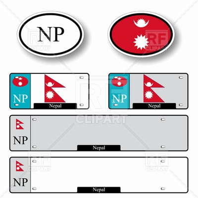 400x400 License Plate Template Vector Awesome Template Of Car Plate Number