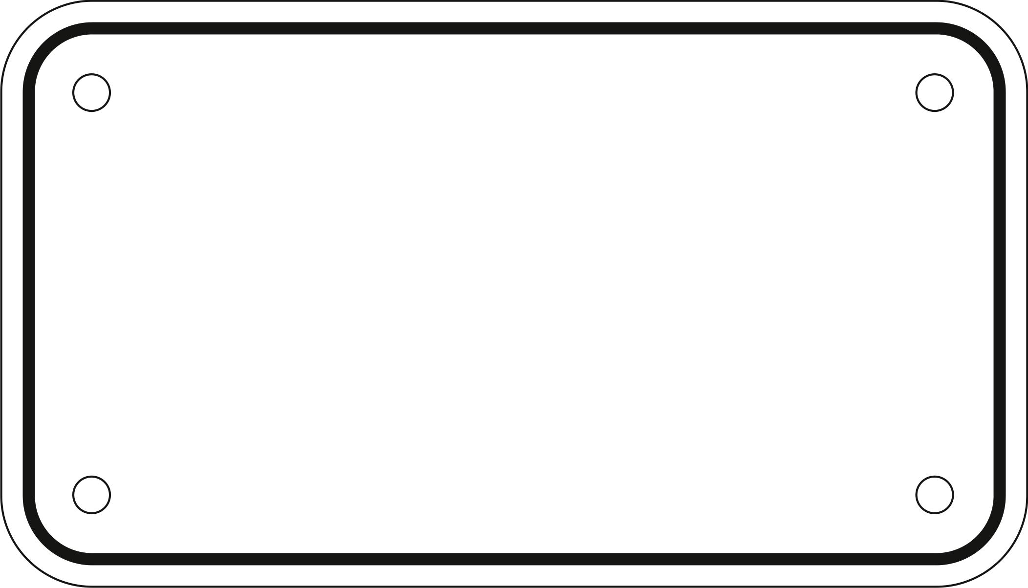 2104x1204 California License Plate Format