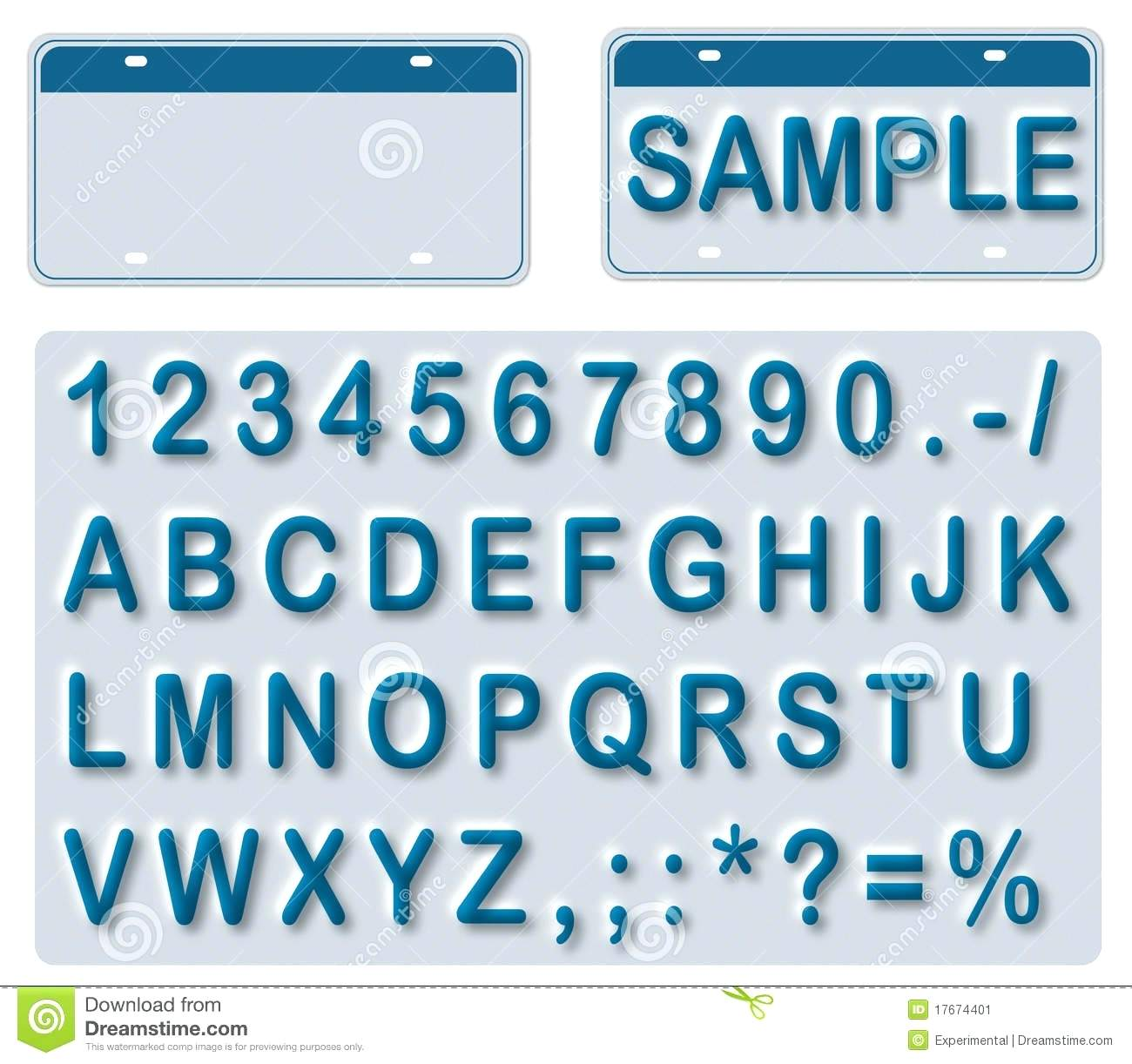 1300x1222 Template Licence Plate Template Empty License With Editable Texts