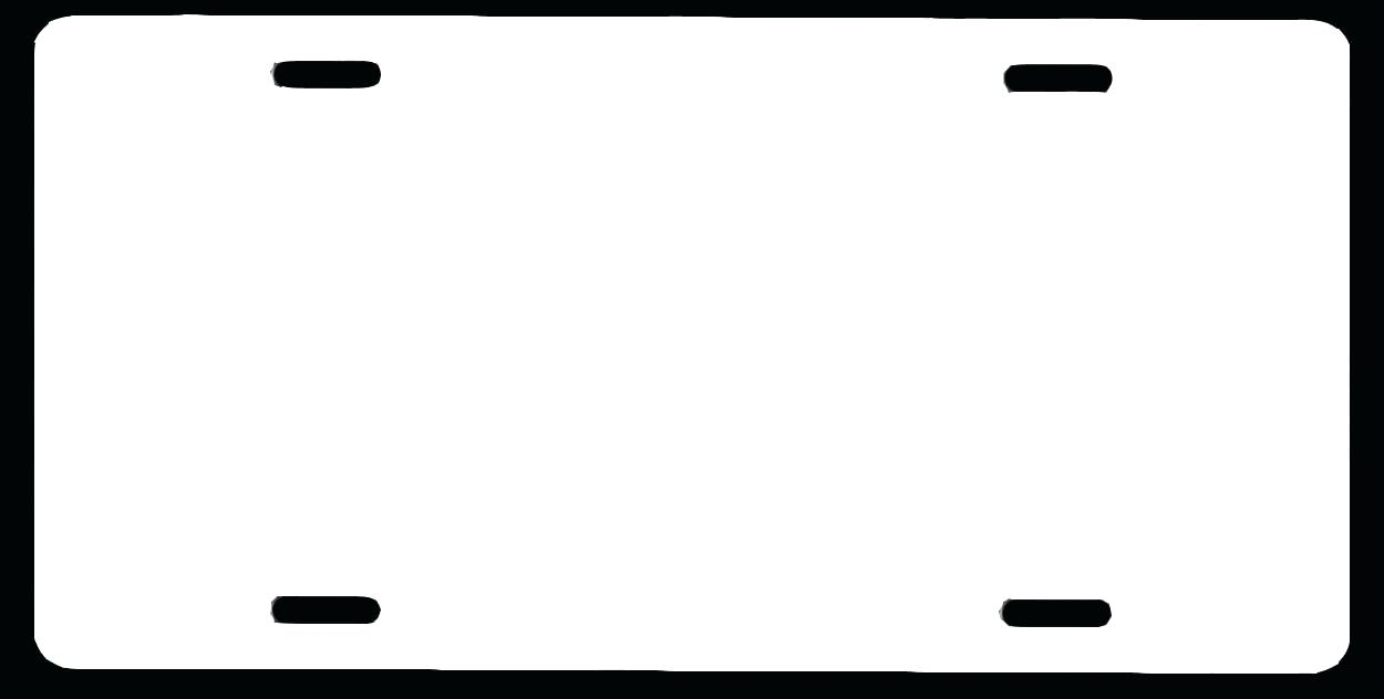 graphic relating to Printable Temporary License Plate Template identify License Plate Template Vector at  No cost for