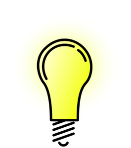 Light Bulb Vector Art