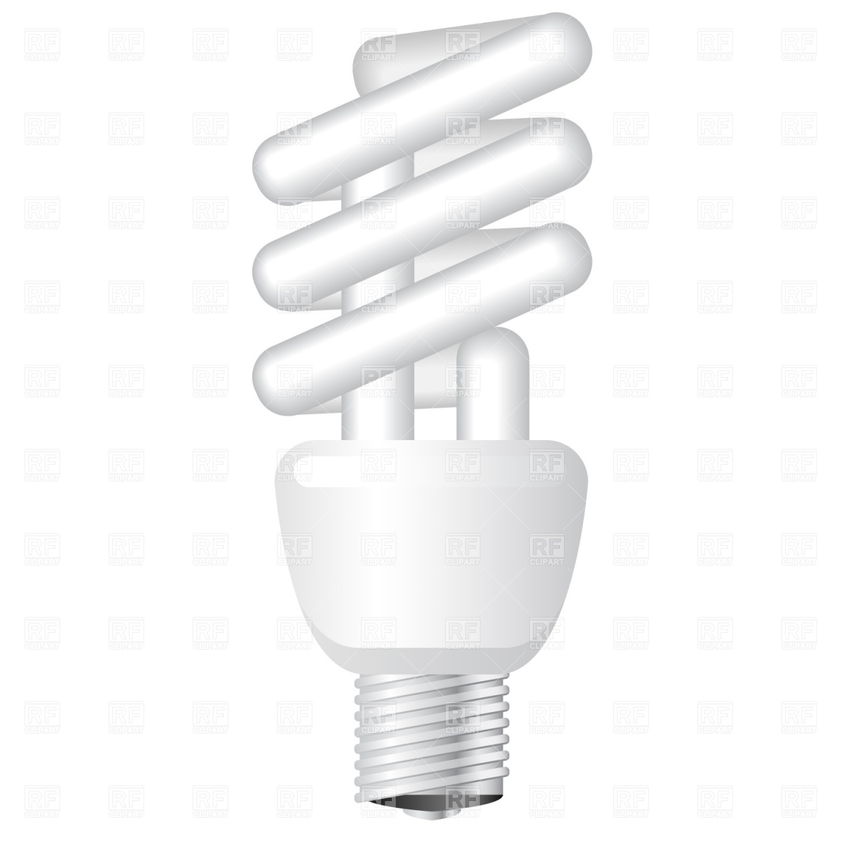 1200x1200 Energy Saving Light Bulb Vector Image Vector Artwork Of