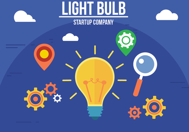632x443 Free Creative Light Bulb Vector Free Vector Download 357289 Cannypic