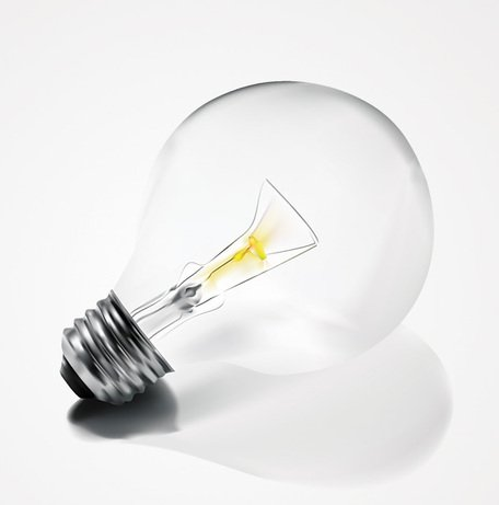 456x461 Free Light Bulb Clipart And Vector Graphics