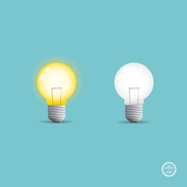 600x600 Free Light Bulb Vector Icon Ian Barnard