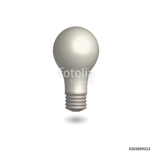 500x500 Symbol Innovation Light Bulb, Vector Stock Image And Royalty Free