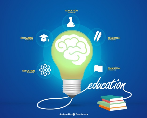 626x500 Education Images Free Download Education Infographic With A Light