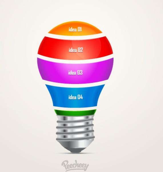 571x600 Light Bulb Vector Free